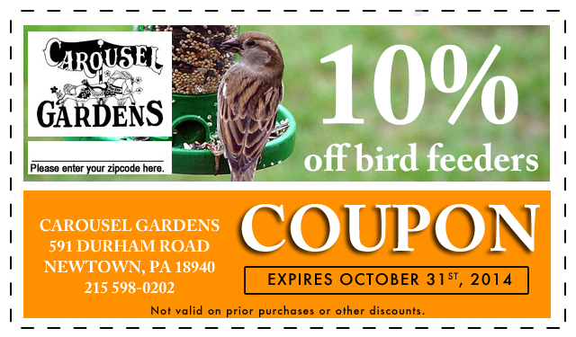 Coupons Carousel Gardens Nursery